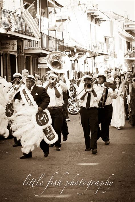 Second Line French Quarter And New Orleans Wedding On