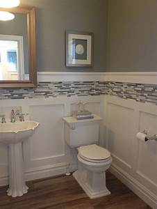 Best bathroom wall ideas on half