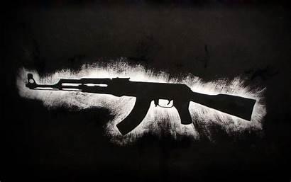 Ak 47 Ak47 Guns Gold Anime Gun