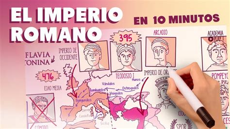 el imperio romano en  minutos youtube