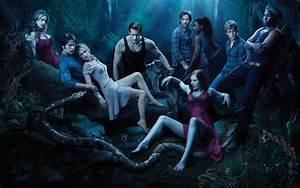 True blood vampire serie toute equipe wallpaper dark loup acteurs Fonds écran