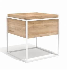 Beistelltisch Holz Metall : beistelltisch hannes m aus holz und metall ~ Heinz-duthel.com Haus und Dekorationen