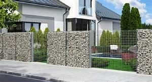 Mur De Cloture En Gabion : pourquoi choisir un mur cl ture en gabions bienchezmoi ~ Edinachiropracticcenter.com Idées de Décoration