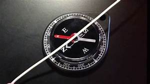 Compass Deflected By Current In Wire