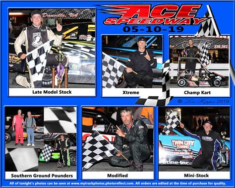 Ace Speedway Weekly Winners | Facebook