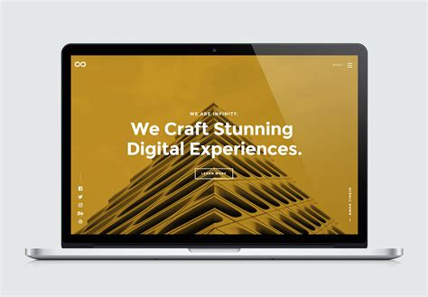 infinity high quality  website template  styleshout