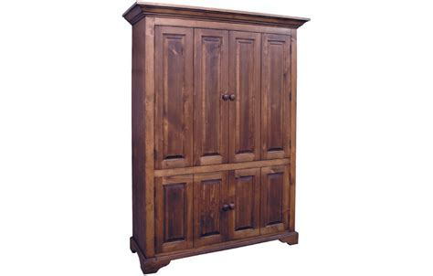 French Country Flat Screen TV Armoire   French Country
