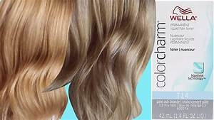 Wella Color Charm Toner Chart How To Tone Hair And Get Rid Of Brassiness Using