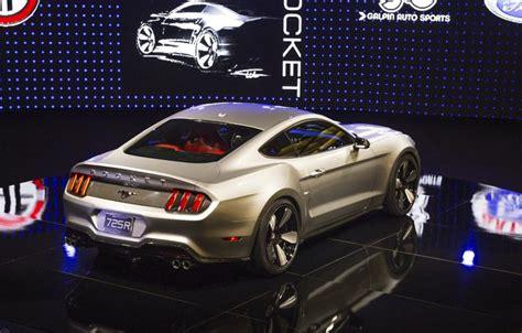 galpin auto sports reveals kw rocket mustang  la