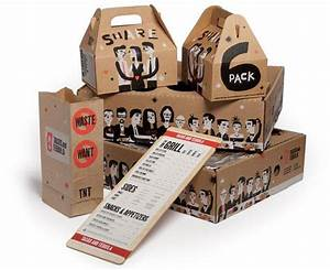 18 cool take away packages that will raise your appetite With cool packaging boxes