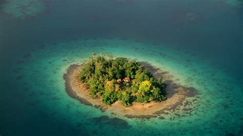 report says solomon islands sinking into due to