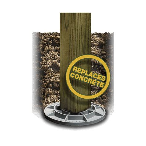 footingpad composite footing systems hoover fence