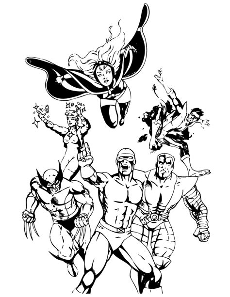 men colossus coloring pages coloring home