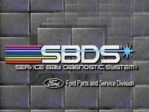 Buy Ford Service Bay Diagnostic System Training Video Tape