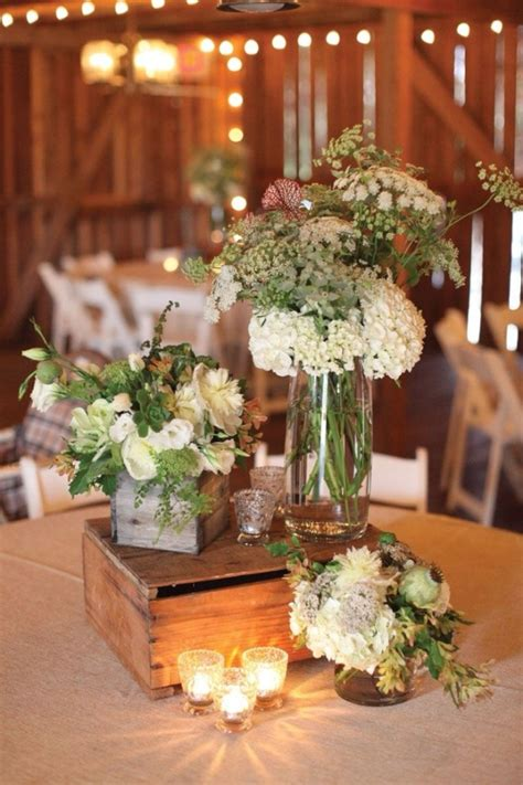table centerpieces using photos 20 great ideas to use wooden crates at rustic weddings
