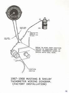 1968 Mustang Tach Wiring Diagram