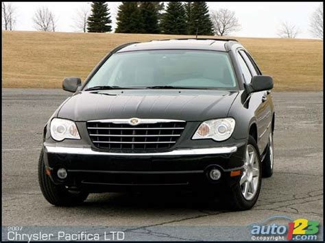 08 Chrysler Pacifica by 07 08 Chrysler Pacifica Ccfl Halo Projector Headlights