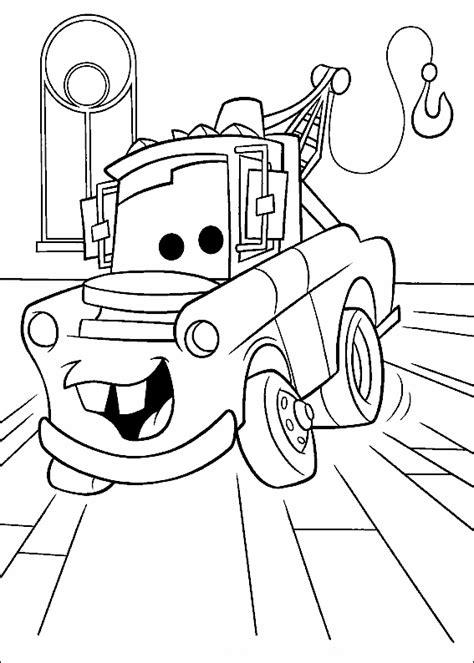 dibujos de cars  colorear dibujos  colorear