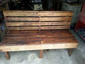 Pallet Bench • 1001 Pallets