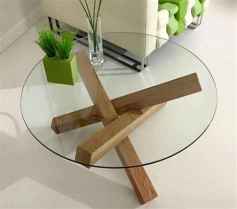 tavoli vetro  legno idee  design  la casa excelintelus