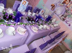 Sofia the first themed tea party cape town - The Party B