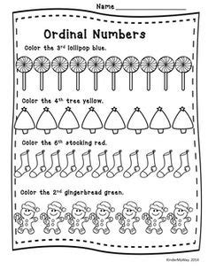 ordinal numbers los numeros ordinales images