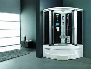 Cabine De Douche 170x80 : cabine de douche int grale avec jets d 39 eau massant ~ Edinachiropracticcenter.com Idées de Décoration