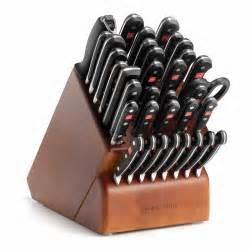 kitchen knives block set wusthof classic supreme cutlery set with knife block 36 at chefs corner store