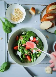 Salat Mit Spinat : spinat salat mit erdbeeren zucker zimt und liebe ~ Orissabook.com Haus und Dekorationen