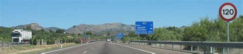 Carte Peage Espagne Portugal by Carte Des Routes Et Autoroutes D Espagne