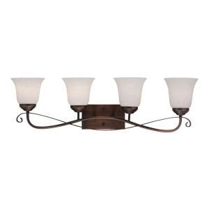 kitchen sinks lowes millennium lighting 4 light rubbed bronze sconce with 3024