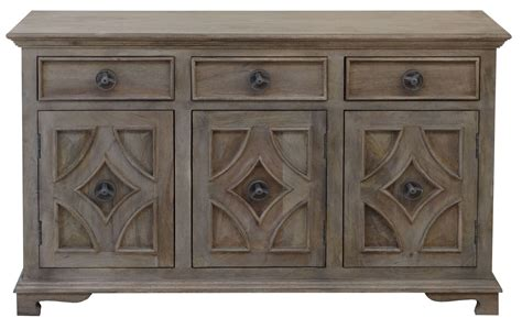 Entry Sideboard by Three Drawer Three Door Sideboard 63143 From Coast To