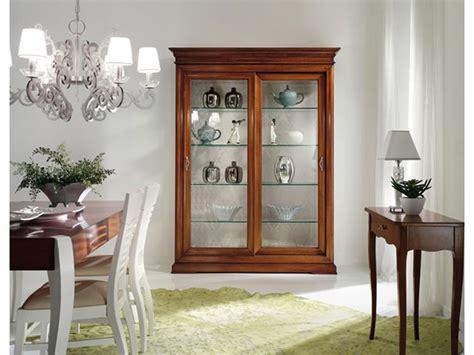 soggiorni stile shabby vetrinetta vetrina in stile shabby chic mottes mobili