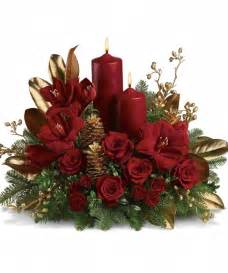 christmas flower centerpieces pictures2