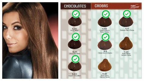 pelo color chocolate cabello color chocolate con leche peinados populares en