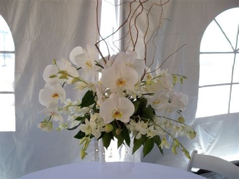 White Orchids Centerpieces Make Great Presence