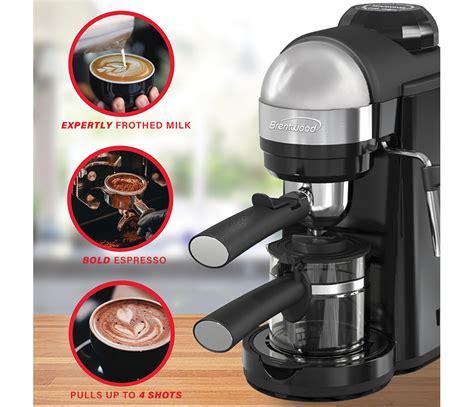 brentwood ga bk espresso  cappuccino maker black