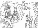 Coloring Pages Native American Adults Indians Americans Adult Indian Printable Sheets Books Tipi Sat Very Flag sketch template