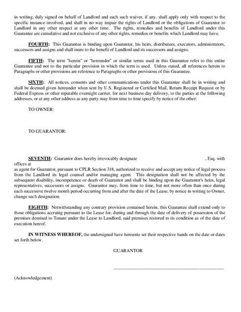 guarantor agreement form ichwobbledichcom