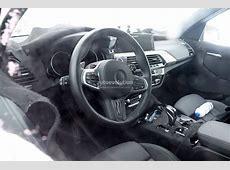 Spyshots 2019 BMW X3 M Interior Reveals M5 Steering Wheel