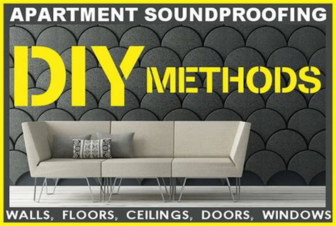 Soundproofing Apartment Windows by Apartment Soundproofing Methods Wall Floor Ceiling