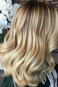 36 Blonde Balayage Hair Color Ideas With Caramel  Honey  Copper Highlights