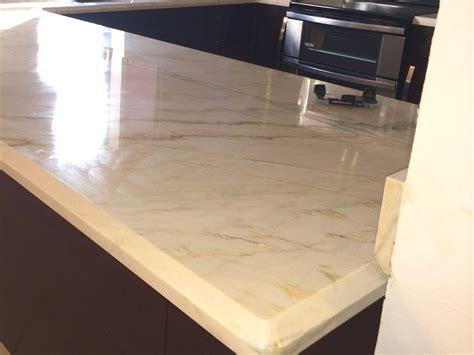 wood cabinets white quartz countertop miami general