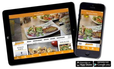 application de recette de cuisine l application mobile de recettes pour diab 233 tiques