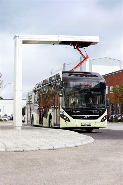 vaernamo  electric  volvo electric hybrid buses