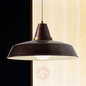 Suspension Design Vintage Rouille 1 Lampe Luminairefr