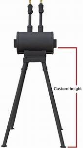 Gas Forges - Forge Stand Side View