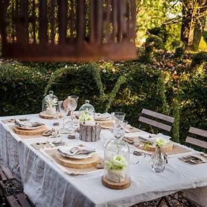 Rondin De Bois Table : deco de table avec rondin de bois ~ Teatrodelosmanantiales.com Idées de Décoration