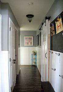 art supply organization o our house now a home With barn door for hallway