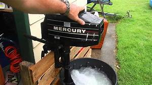 Mercury 2 2hp Blocked Tell Tale To Be Fitted To Canoe